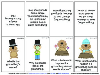 Groundhog Day! {FREEBIE} WH questions and more!