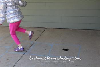Groundhog Day Fact Hopscotch Kids Game