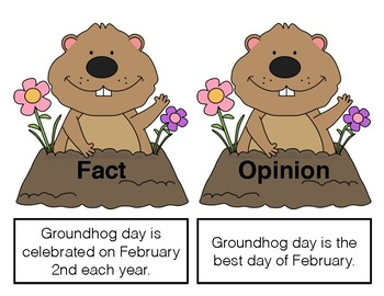 Groundhog Day Fact & Opinion