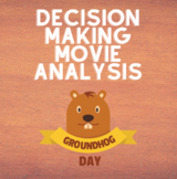 Groundhog Day Film Questions-Decision Making Lesson