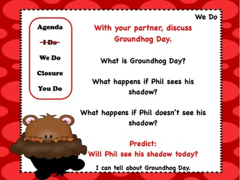 Groundhog Day Flipchart