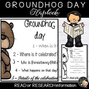 Groundhog Day Flapbook