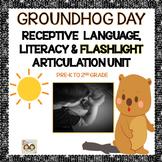 Groundhog Day Flashlight Articulation, Receptive Language,