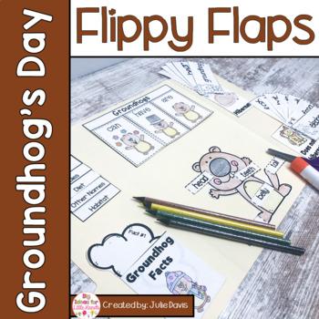 Groundhog Day Activities Interactive Notebook Lapbook