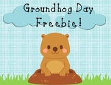 Groundhog Day Freebie