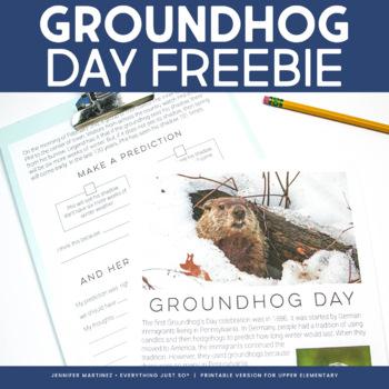 Groundhog Day FREE Resource