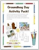 Groundhog Day Fun Activity Pack