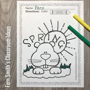 Groundhog Day Coloring Pages - 22 Pages of Groundhog Day Coloring Fun