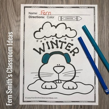Groundhog Day Coloring Pages - 20 Pages of Groundhog Day Coloring Fun