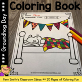 Groundhog Day Coloring Pages - 22 Pages of Groundhog Day C