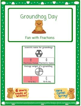Groundhog Day-Fun With Fractions (Identify fractions)