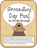Groundhog Day Fun for First Grade!