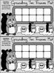 Groundhog Day Game Activities:Groundhog Day Ten Frames Winter Math Activity