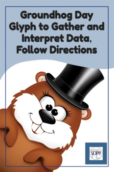 Groundhog Day Glyph With Critical Thinking Questions - Following Directions