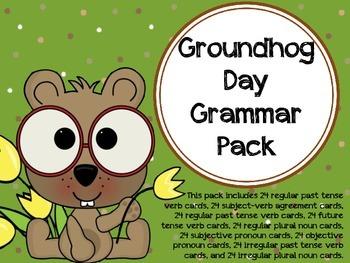 Groundhog Day Grammar Pack