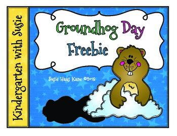 Groundhog Day Graphing Freebie