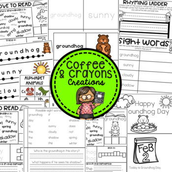 Groundhog Day Guided Reader and Activities Set Level B