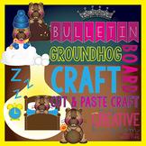 Groundhog Day Habitat Bulletin Board Bundle