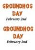 Groundhog Day Handout