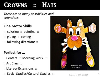 Groundhog Day Hat  ::  A science and Literature Groundhog Day Craft