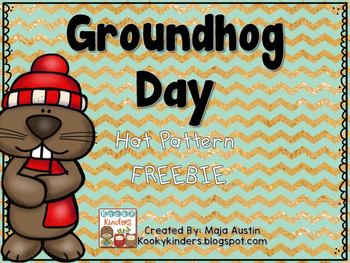 Groundhog Day Hat FREEBIE