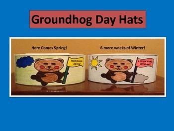 Groundhog Day Hats