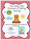 Groundhog Day Holiday Research & Coloring