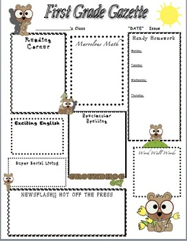 Groundhog Day Home Learning Newsletter