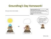 Groundhog Day Homework