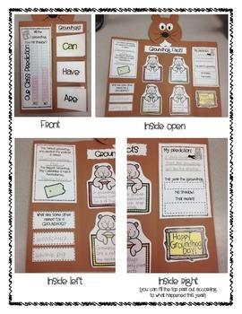 Groundhog Day Interactive Book/Craft/Activity