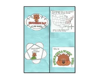 Groundhog Day Interactive Lapbook