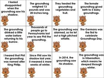 Groundhog Day Language Packet!