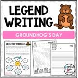 Groundhog Day Legend Writing