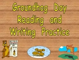 Groundhog Day Literacy Activities- Kindergarten- og word family + more