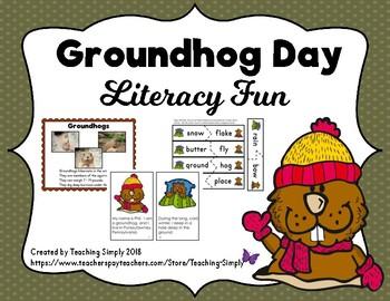Groundhog Day Literacy Fun
