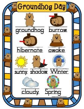 Groundhog Day Literacy Packet