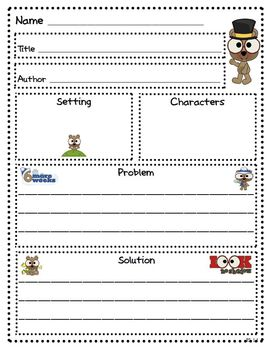 Groundhog Day Literacy and Math Activities