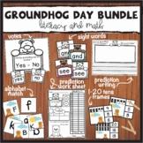 Groundhog Day Literacy and Math Bundle