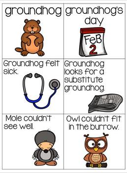 Groundhog Book Companion (Read Aloud Activities)