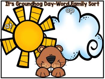 Groundhog Day- Literacy and Math Mini unit