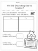 Groundhog Literacy and Math Non-Fiction Unit - Word Wall