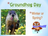 Groundhog Day - Literacy and Reading - Activity and Fun