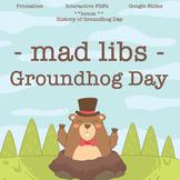 Groundhog Day Mad Lib Bundle