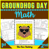 Groundhog Day Math Activities | Place Value Worksheets and