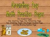 Groundhog Day Math Activities for Kindergarten