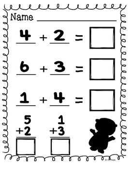 Groundhog Day Math (Addition)
