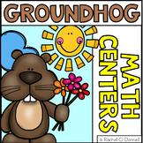 Groundhog Day Math Center Freebie