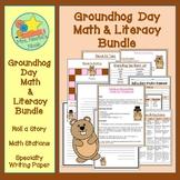 Groundhog Day Activities Math and Literacy Bundle