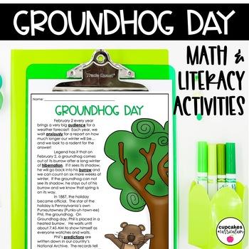 Groundhog Day Math and Literacy