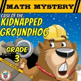 3rd Grade Groundhog Day Math Mystery Activity